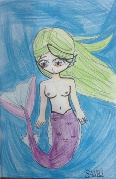 Girl haired mermaid by Imsambo1