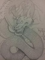Japanese Dragon by spratsanime