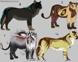 Adoptables AUCTIONS- CLOSED by LeoNoy