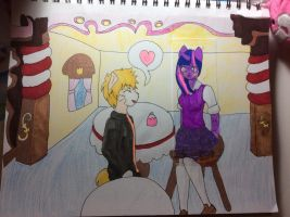 Twilight  and Naruto - 30 point commission by Ositodraws