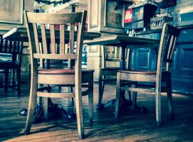 Tables and chairs by grbush