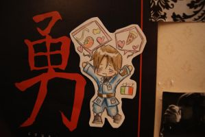x--APH - Italy Paperchild--x by Lillgoban