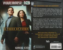 My Warehouse 13 book by Bloodwolf-Xx