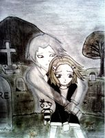 Lenore x Ragamuffin: don't cry by sayuri12moonlight