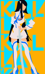 Satsuki Kiryuin Is Out To Kill by Crazed-Artist