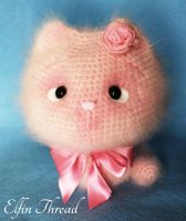 Elfin Thread - Fuzzy Kitty (regular size) by ElfinThread