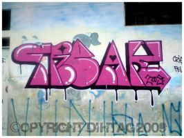 Titi Freak Graffiti by DihtagZ
