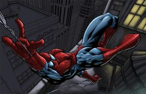 Spidey wip by SpicerColor