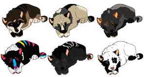 Canine Baby Adopts .:.Closed.:. by MonsoonWolf