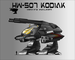 ADAMU ARMS HW-507 KODIAK HEAVY WALKER by capriceklasik