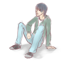 Kouichi Sketch by CrashedmyHarley
