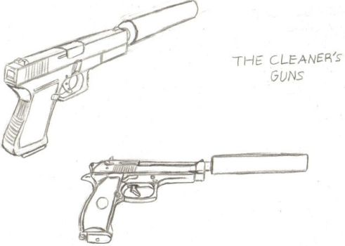 The Cleaner's Guns by Dangerman-1973