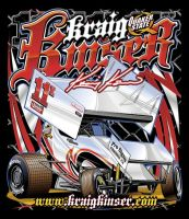 Kinser tee design by Bmart333