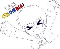 viva colombia :D by nenychan123
