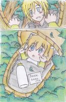 Papa Jaune Journal : I got a baby!! by KegiSpringfield