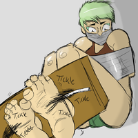 Charlie Tickle Torture Colored by CharlieTheFuckboy
