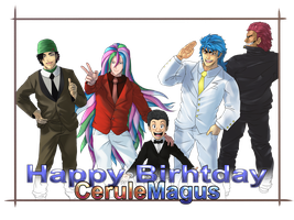 Happy Birthday CeruleMagus by xenocracy