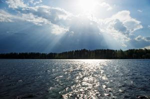 Sun Over Vuoksi by wolfheart83