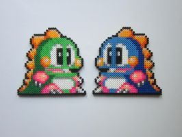 Bub and Bob by 8-BitBeadsStudio