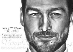 Andy Whitfield by VencaSeitl
