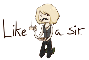 Like a sir ID by Anolee