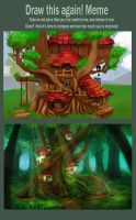 redraw this again meme - Treehouse by thlbest