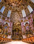 Ettal abbey inside by Ditze