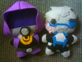Mass Effect 3 Plushies by CheesyHipster