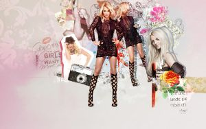 Britney Spears Collage by DefiantDizz