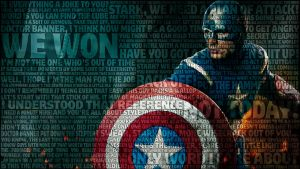Captain America Avengers Wallpaper by bbboz