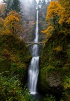 Multnomah Falls by sivousplay