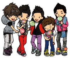 BigBang with lollipop by hedpie