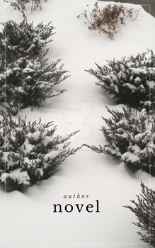 Novel premade book cover: Snow by ropeturtles