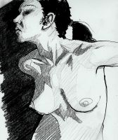 Ink and Pencil Study 2 by peopleofearth