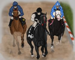 2012 Preakness Stakes by fulociraptor