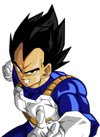Vegeta by BardockSonic