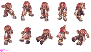 RO - Champion Guy (Sprite Pose) by CyaniDairySentinel