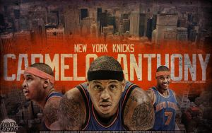 Carmelo Anthony NYC Wallpaper by Angelmaker666
