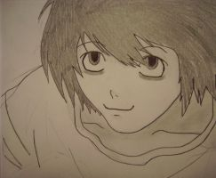 L Lawliet by Moonfox1781
