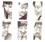 faces by leinef