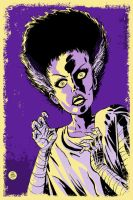 Bride of Frankenstein Poster by markwelser