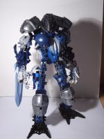 Bionicle: Makuta Shesra by Khanco