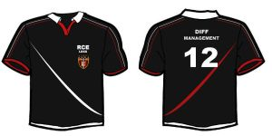 Rugby shirt design by DraconicX