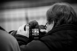 Photogragher in work by Robbanmurray