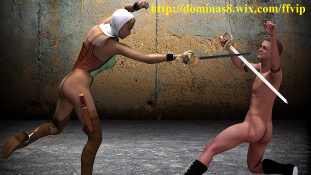 humilated spank fight