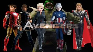Avengers Non Diseny #222 by ROTBTFDfan22