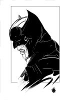 Batman sketch by LeoColapietroArt