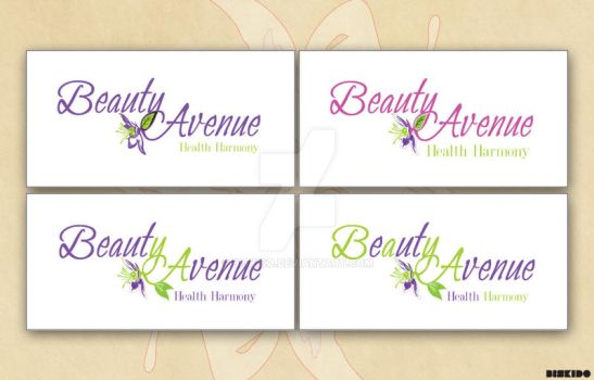 Beauty avenue logo 1 by biskido