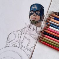 Captain America WIP by Steve-Nice