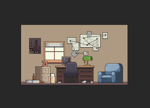 Office Map - Redesign by Amysaurus121